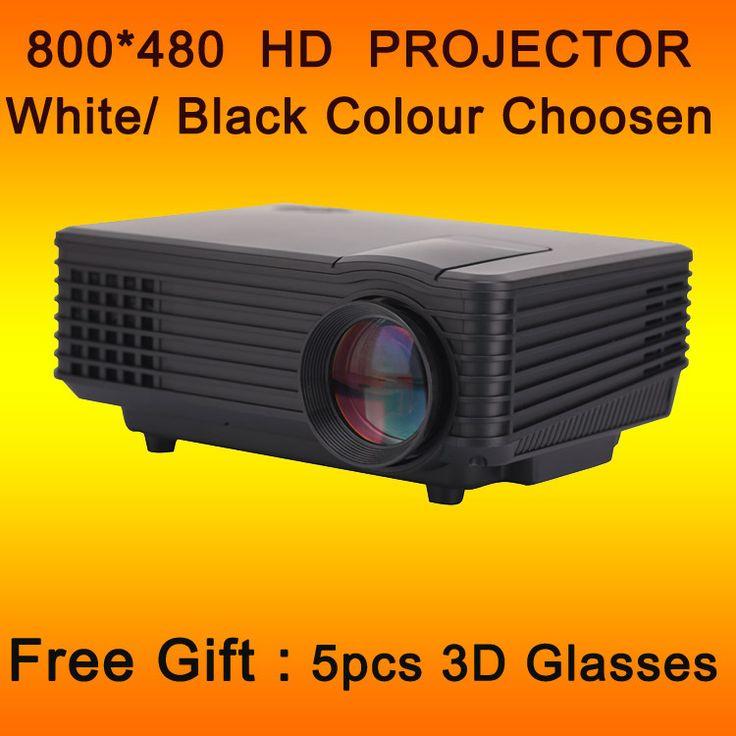 Завод продаже! Переносной мини игры цифровой из светодиодов VGA видеопроекторы поддержка 1080 P, Макс 2200 Lumens с проекционный экран подарок