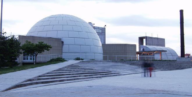Planetario. Parque Tierno Galvan. Madrid