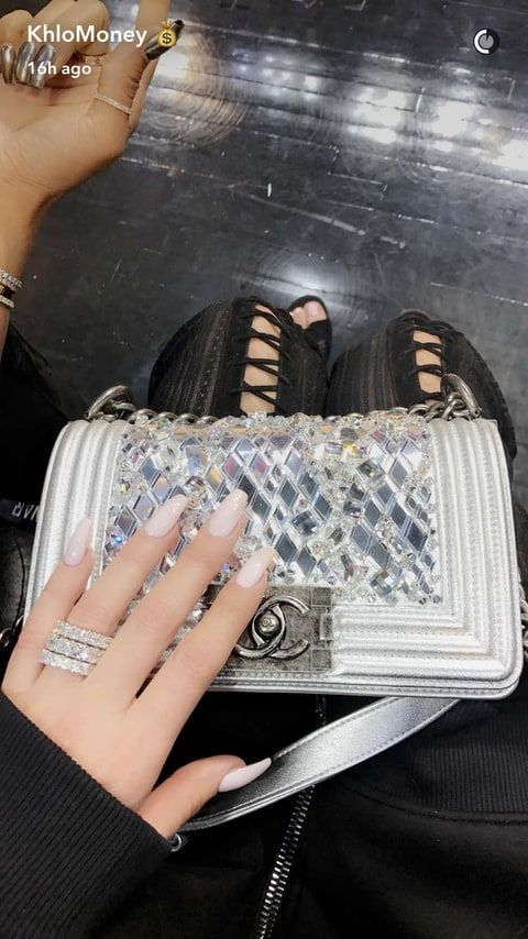 Khloe Kardashian wore massive diamond rings on a date night with her boyfriend, Tristan Thompson on Saturday, March 18 — see the photos!