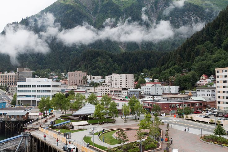 Downtown Juneau with Mount Juneau rising in the background - Juneau, Alaska - Wikipedia, the free encyclopedia