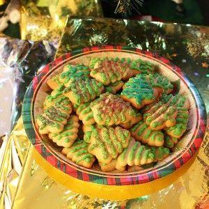 Christmas Tree Cookie Press Recipe