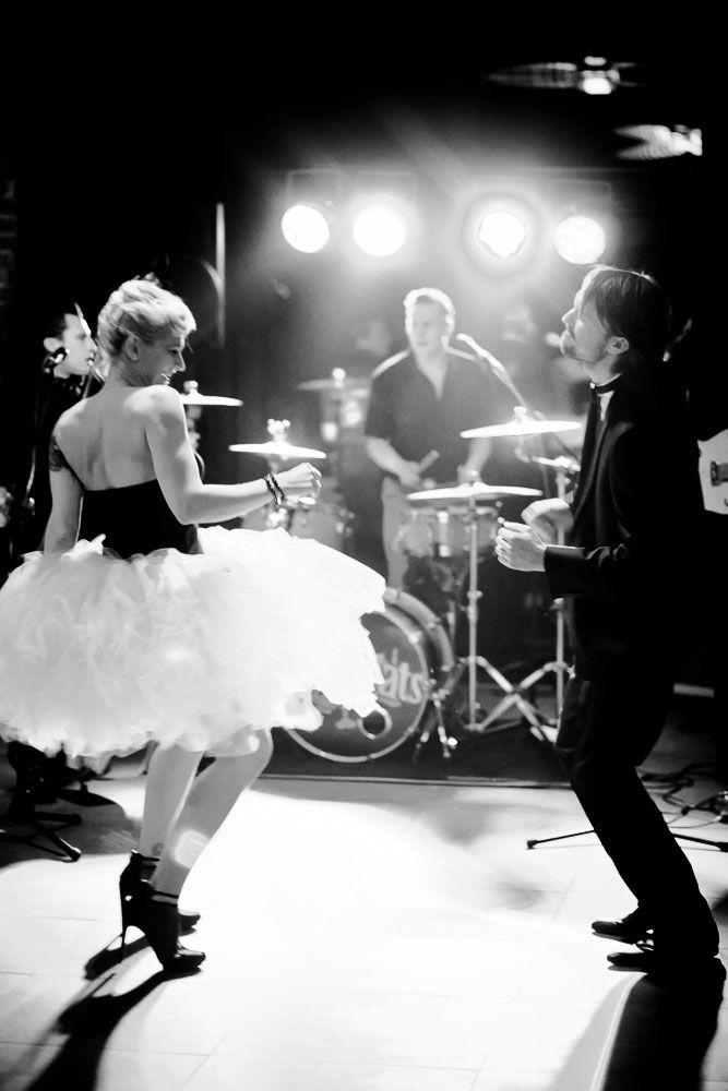 Punk Rock n Roll New Year's Eve Wedding: Andrea & Franz · Rock n Roll Bride