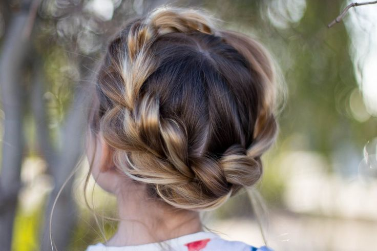 haircuts for kids pictures 25 best ideas about hairstyles on 3452 | 3452d5e5a4d906d58f99a079894a3c44 crown braid kids crown braids
