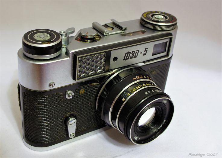 FED 5 (first version) - 35mm rangefinder camera (1977-1985)