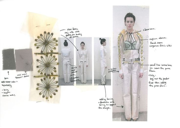 Fashion Sketchbook - fashion design and development of ideas