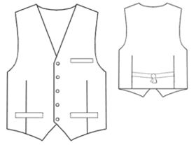 Free pattern for a vest. Easily altered for Victorian or Steampunk. I haven't…