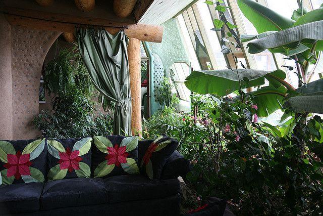 Phoenix Earth ship        Phoenix Earthship Kitchen                       Earthship sitting room : my absolute dream room    ...