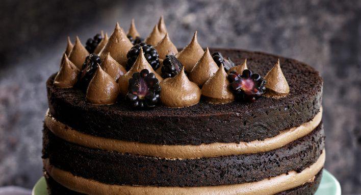 Chokladtårta+med+chokladfrosting