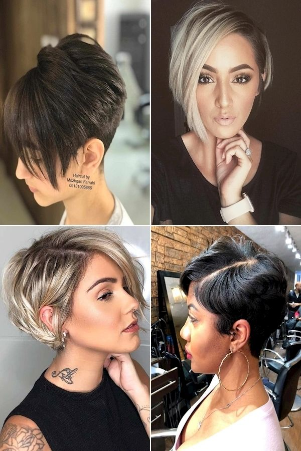 Pixie Cut Oval Face