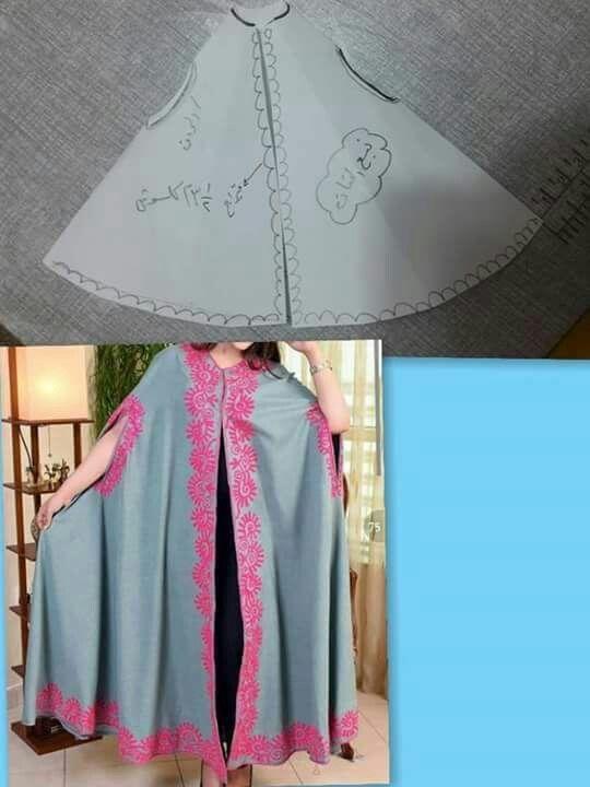 Cap caftan pattern., Moroccan style