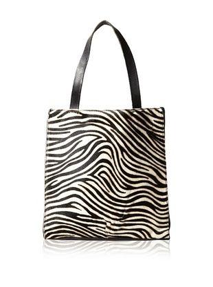 60% OFF 49 Square Miles Women's Maven Magazine Tote, Zebra