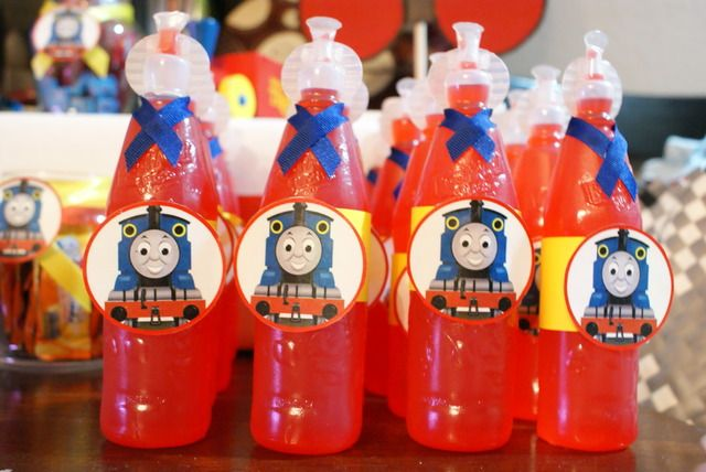 "Photo 3 of 20: Thomas the Train / Birthday ""Choo Choo Josh turns 4"" 