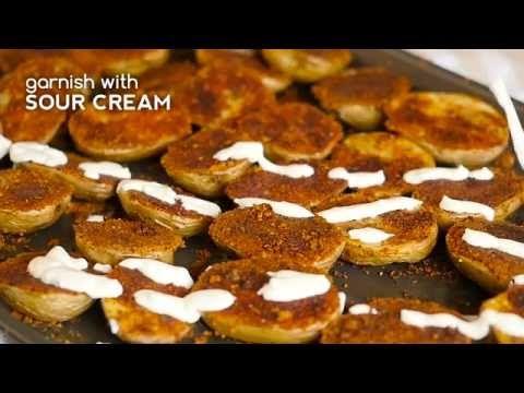 Crispy Parmesan Sheet Potatoes – 12 Tomatoes