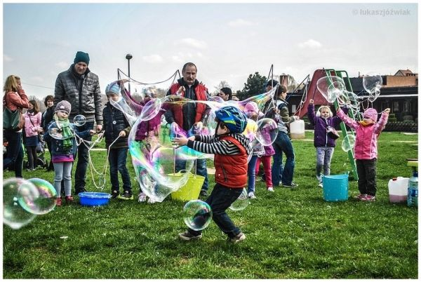 Day of soap bubbles