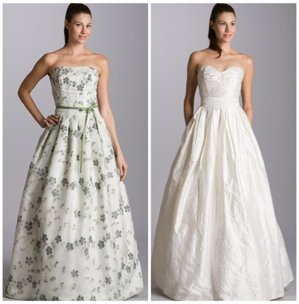 Amazing rustic wedding gowns by Aria the one on the right is exactly my style