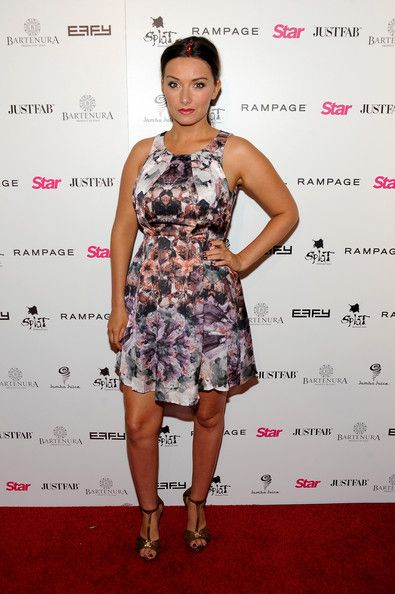 #Rachel Ann Mullins wearing our #colettemalouf #headstrap on the #redcarpet That's some arm candy Rachel!! #LOVE IT!