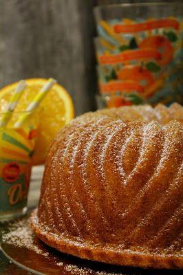 Kakkuviikarin vispailuja!: Appelsiini-kahvikakku