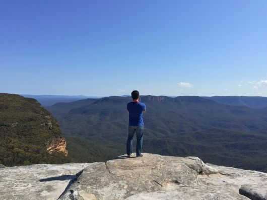 Lincoln's Rock, Blue Mountain - Sydney.