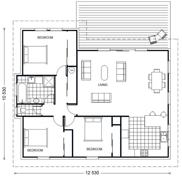 35 best Home images on Pinterest | House floor plans, Blueprints for ...