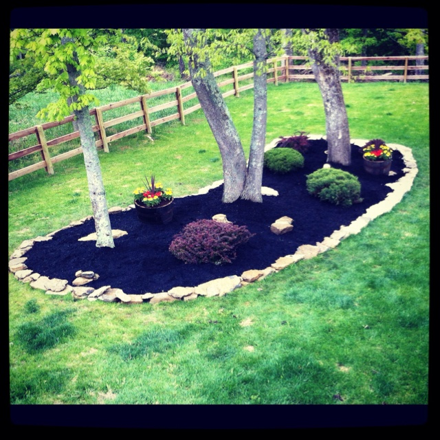8 best images about garden island bed on pinterest for Island garden