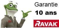 Garantie fabriquant Ravak 10 ans
