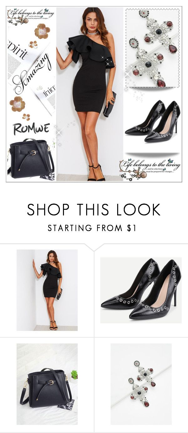 """""""ROMWE 10 / XVII"""" by ozil1982 ❤ liked on Polyvore featuring Champion"""