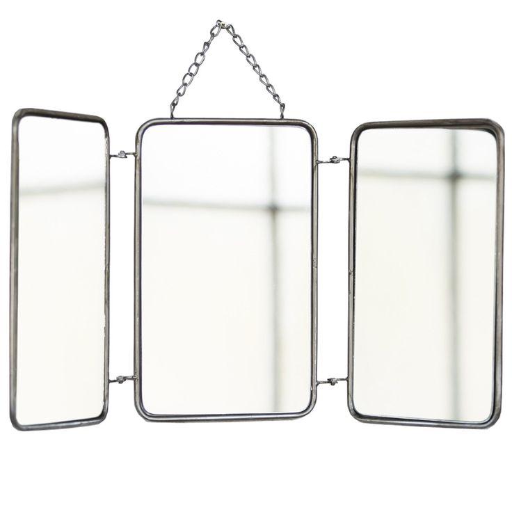 17 meilleures id es propos de miroir triptyque sur. Black Bedroom Furniture Sets. Home Design Ideas