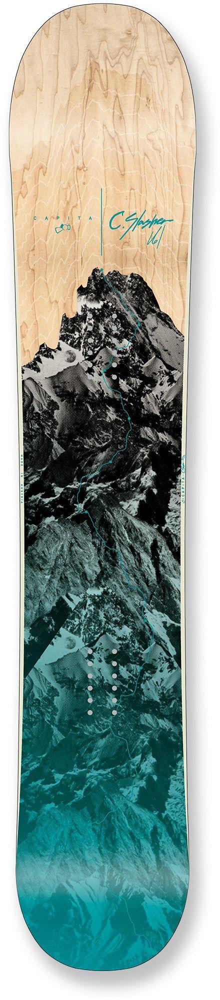 #LL @LUFELIVE #thepursuitofprogression #SnowboardingCapita Charlie Slasher Snowboard - 2014/2015