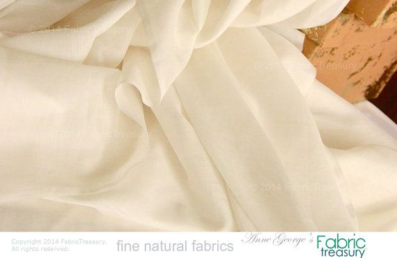 Soft Silk Cotton Fabric. Super soft on skin. by FabricTreasury