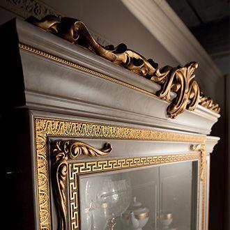 Leonardo Collection Dining Room, Display Cabinet Detail www.arredoclassic.com/dining-room/display-cabinets-leonardo