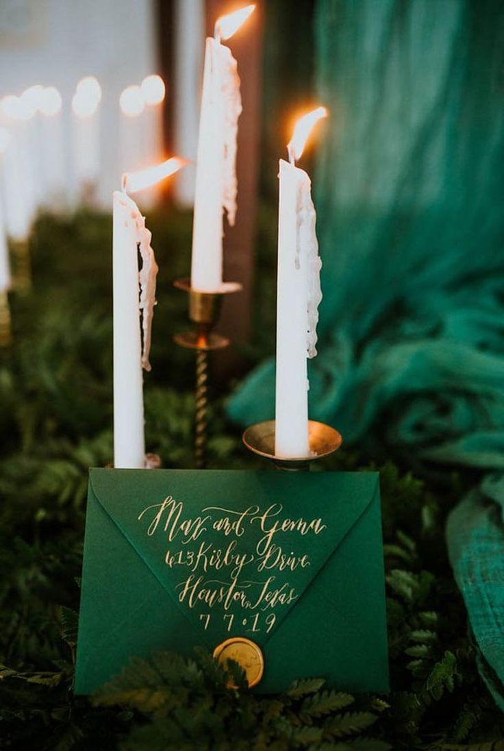 Zombie wedding decorations november 2018  best Wedding Invitations images on Pinterest  Forest wedding