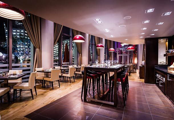 London Marriott Hotel West India Quay  Canary Wharf Steakhouse