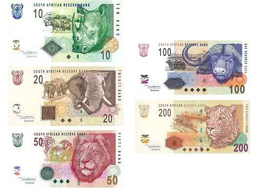 Dél-Afrika rand