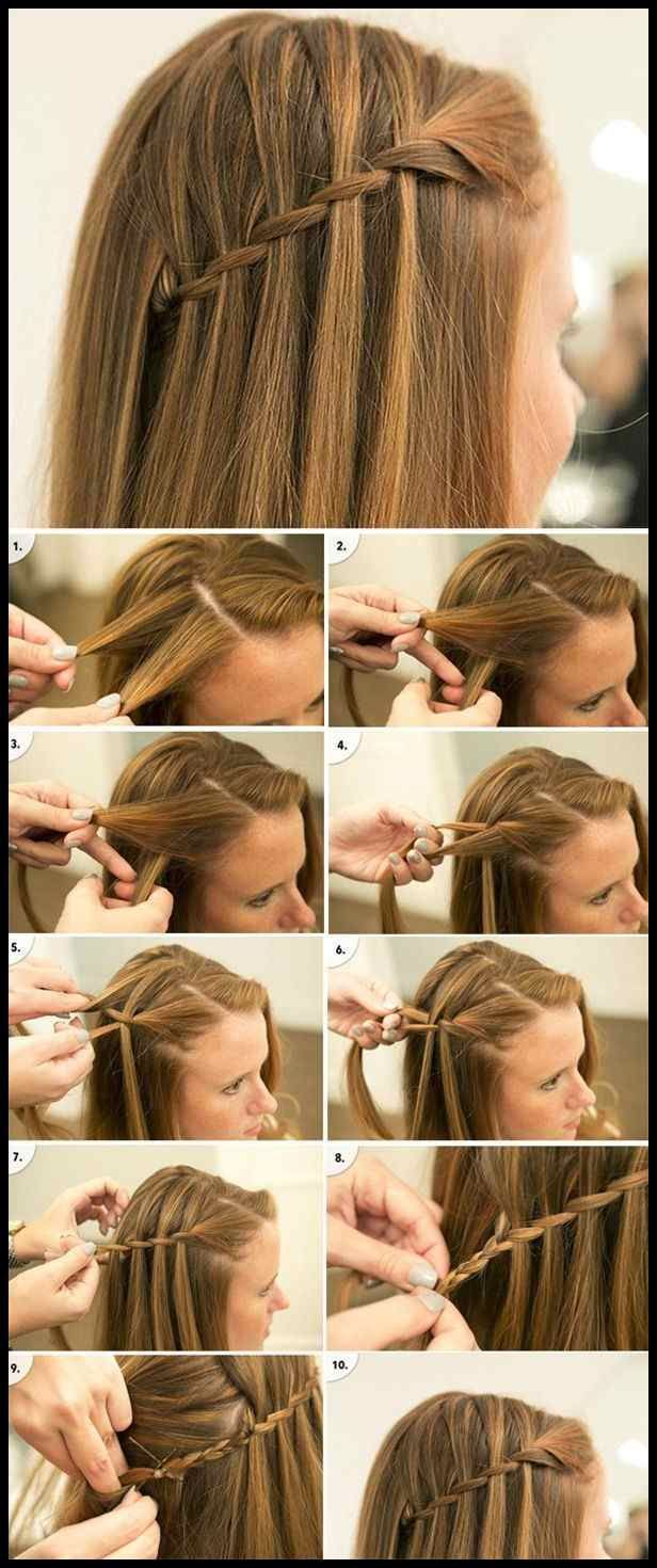 Braided hairstyles to try: Crown Braids and Waterfall | hairstyles