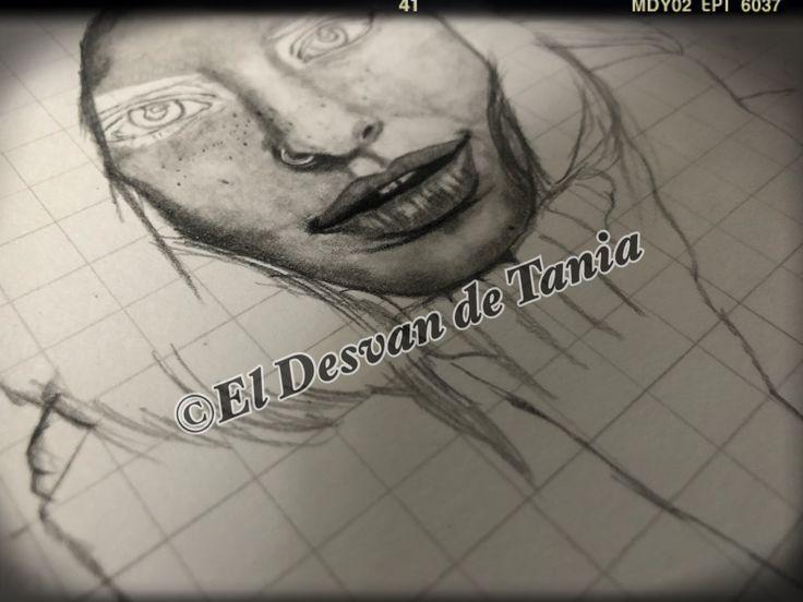Retrato en proceso 10%.... @eldesvandetania