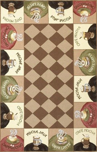coffee themed kitchen rugs - Google Search