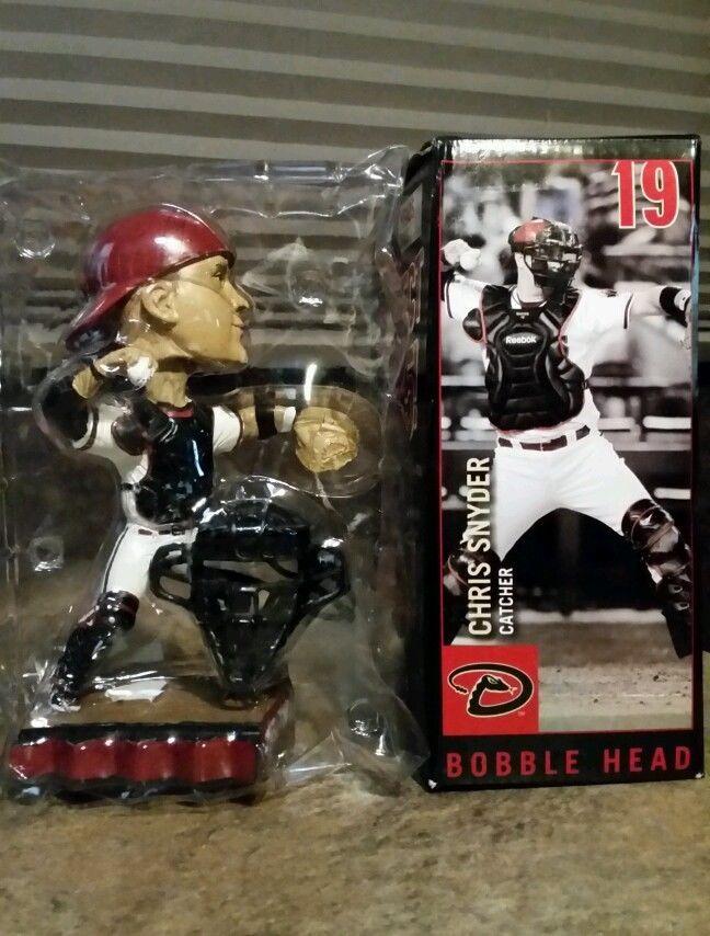 Chris Snyder Catcher Arizona Diamondbacks MLB Bobble Head With Mask 2009 NIB in Bobble Heads   eBay