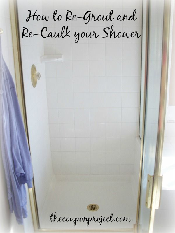 How to Re-Grout and Re-Caulk Your Shower – Step by Step WARNING: Gross mildew pictures ahead. If you are eating or are overly sensitive to disgusting things, you might want to skip this post. For awhile now, I've been really discouraged about my shower. You know you try this product or that to clean it, […]