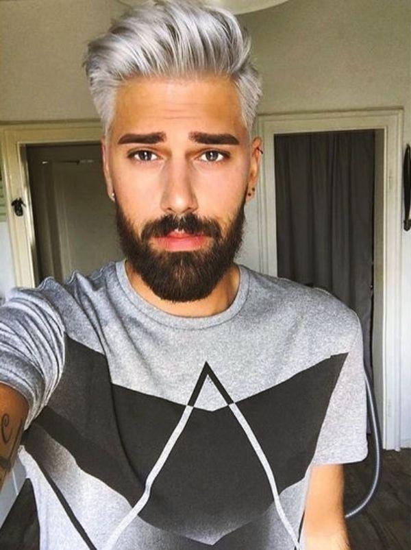 Account Suspended Men Hair Color Mens Hair Colour Silver Hair Men