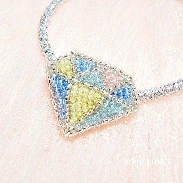 petitヘアゴム*ダイヤモンド