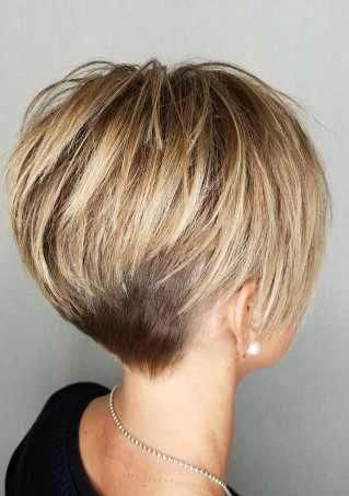 Short Hairstyles and Haircuts for Short Hair in 2018 — TheRightHairstyles #hairstylesandhaircuts #shorthairpixie #shorthairstylesforwomen