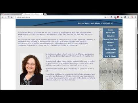 Website Review - Industrial Admin Solutions
