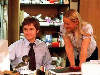 "Martin Freeman as ""Tim"" in the Office (UK) He and Dawn are just MFEO, right?"