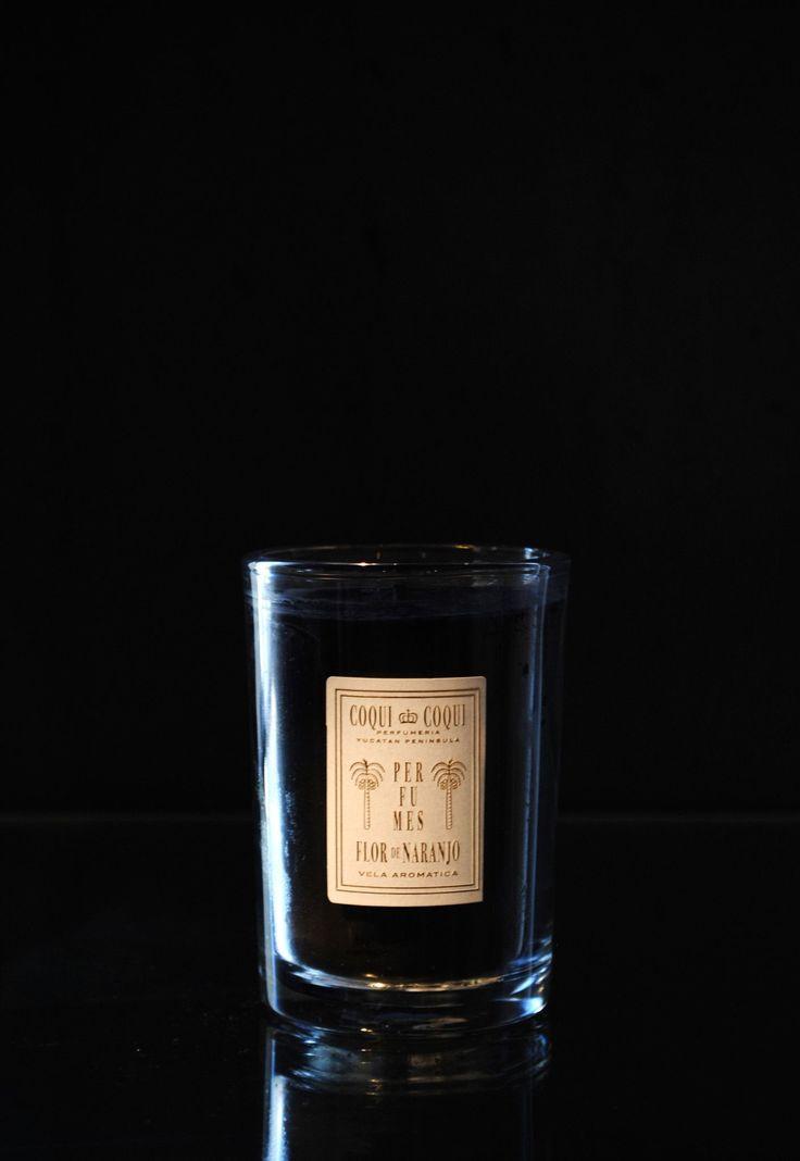Coqui Coqui Beeswax Candle - Flor De Naranjo