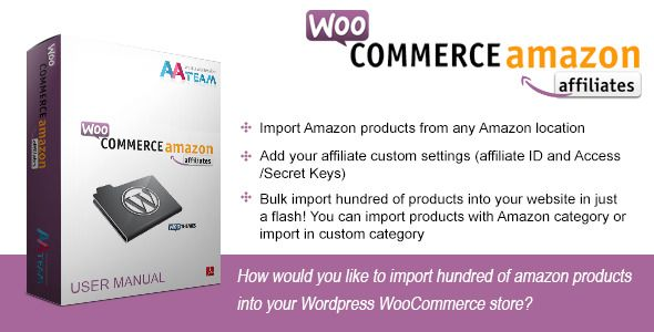 $25  Review & Download Categories: Affiliates, Checkout, CodeCanyon.net, Import/Export, Plugins.