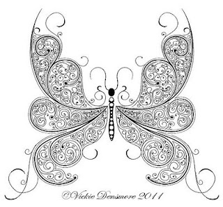 Parchment Craft Patterns-looks like zentangle to me