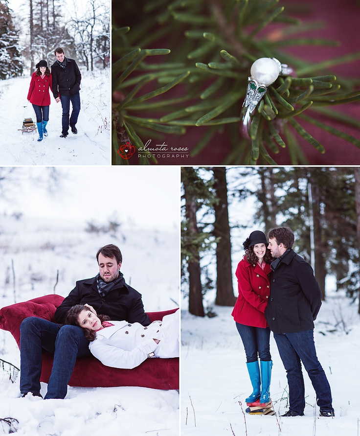 Winter Engagement Shoot    Photography| Eastern Washington | Almota Roses Photography | Photo Session Ideas | Props | Prop | Photography | Clothing Inspiration| Fashion | Pose Idea | Poses |