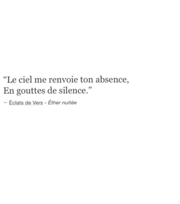 Cette citation est tellement poétique à mes yeux...