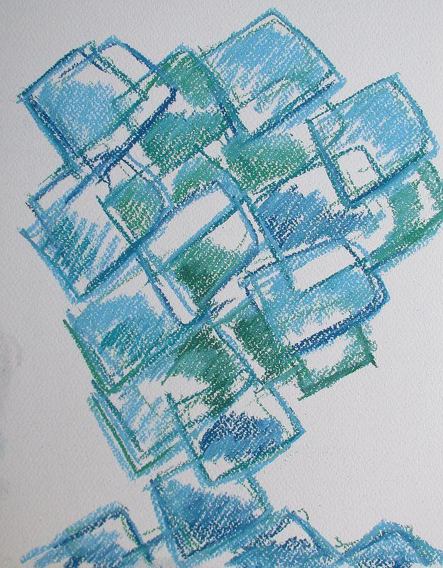 Tree #art #pastels #drawing #abstract #tree #nature #finland #summer