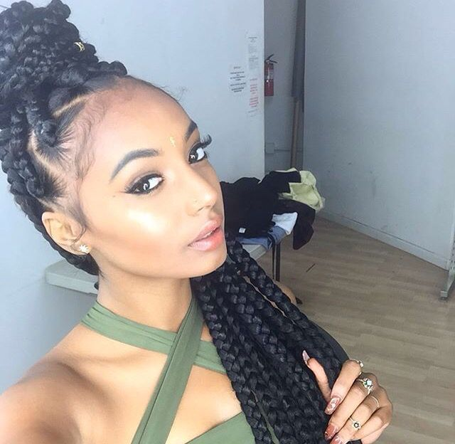 15 Best Images About Box Braids On Pinterest Protective Styles